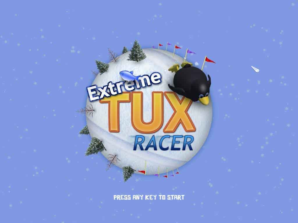 Tux-racer-Linux-Game-Console