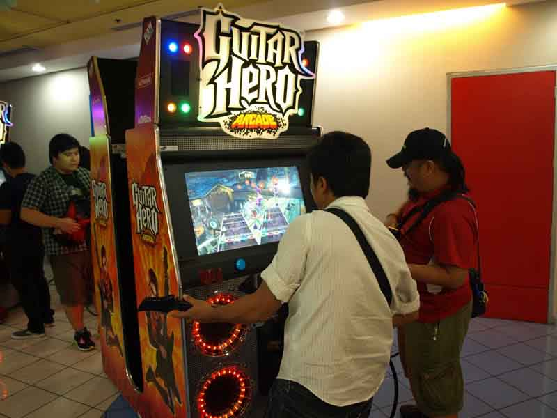 Guitar Hero เกมส์แนวดนตรีที่ม