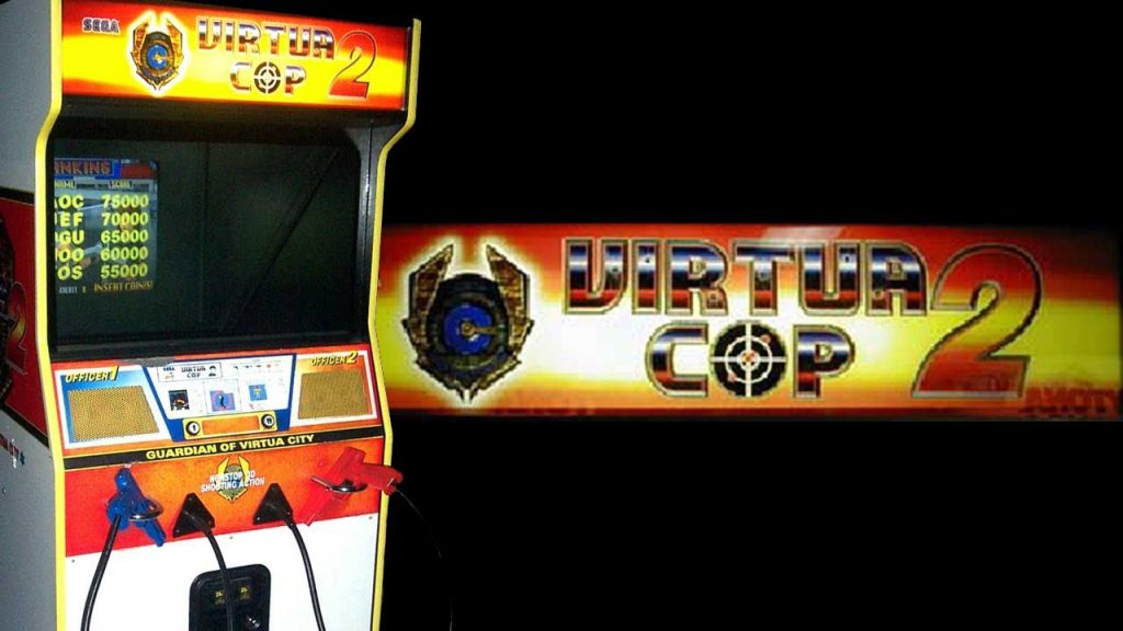 Virtua-Cop-In-Arcade-Game